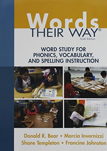 Words Their Way: Word Study for Phonics, Vocabulary, and Spelling Instruction plus Words Their Way: Word Sorts for Withi