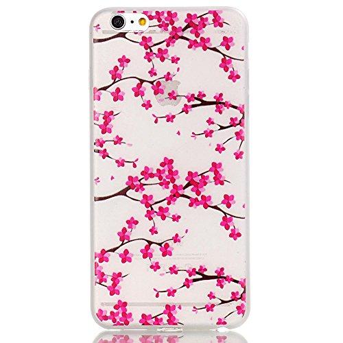 iPhone 6 Plus Funda, Carcasa iPhone 6S Plus Case Cover ,Luminoso TPU Protección colorida Terremoto / prevención de colisiones, patrones de personalidad creativa delgada avanzada,para iPhone 6 Plus/6S  image-4