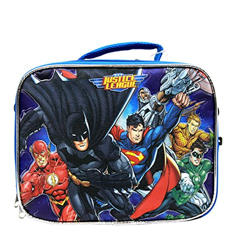 Justice League 10 Lunch Bag/Box #JL35506 Accessory Innovations 30308