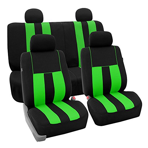 neon green bucket seat covers - 8