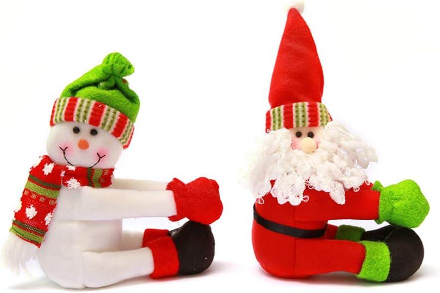 YOUMI Botella de Vino Conjunto de la Navidad Hecha a Mano Hermosa ...