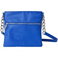 Chic Buds Cross Body Power Portable Charger for Universal/USB Devices - Retail Packaging - Cobalt