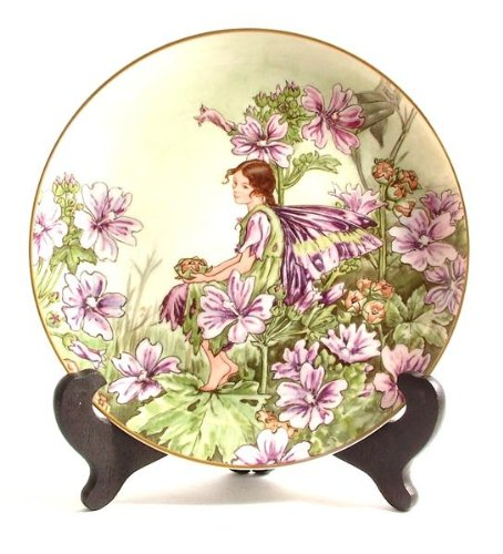 - Heinrich Villeroy and Boch The Mallow Fairy by Cicely Mary Barker Flower Fairies Collection CP552