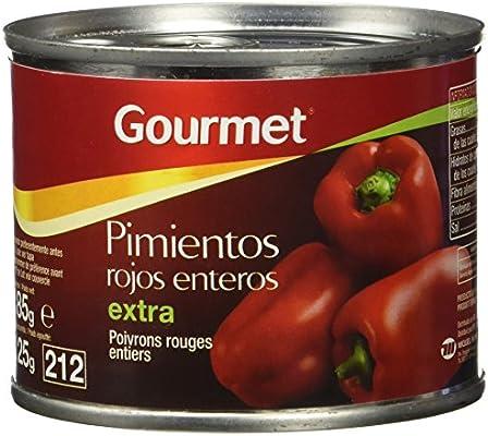 Gourmet - Pimientos Rojos Enteros - Extra - 125 g - [Pack de 12 ...