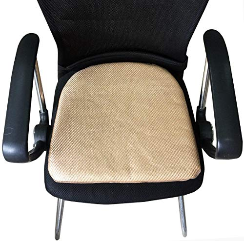 (Sideli -2pc Summer Seat Cushion soft Pad Breathable Office/Home Chair Cover Mat (2, Summer)