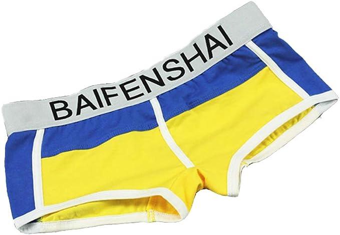 BaronHong 100% algodón Sports Boyshort Pack de 3 Calzoncillos ...