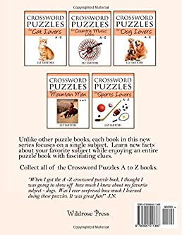 Flip to back Flip to front  sc 1 st  Amazon.com & Crossword Puzzles for Bird Lovers A to Z (Crossword Puzzles A to Z ... 25forcollege.com