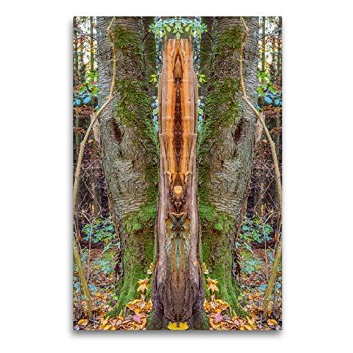 CALVENDO Toile Murale en Textile de qualité supérieure Motif Totem 60 x 90 cm