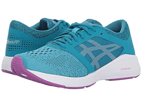 Asics RoadHawk FF Aquarium/White/Orchid Women's Running S...