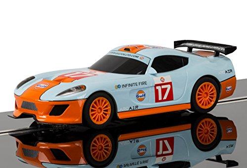 Scalextric Team GT Lightning - Team GT Gulf 1:32 Slot Race Car C3840
