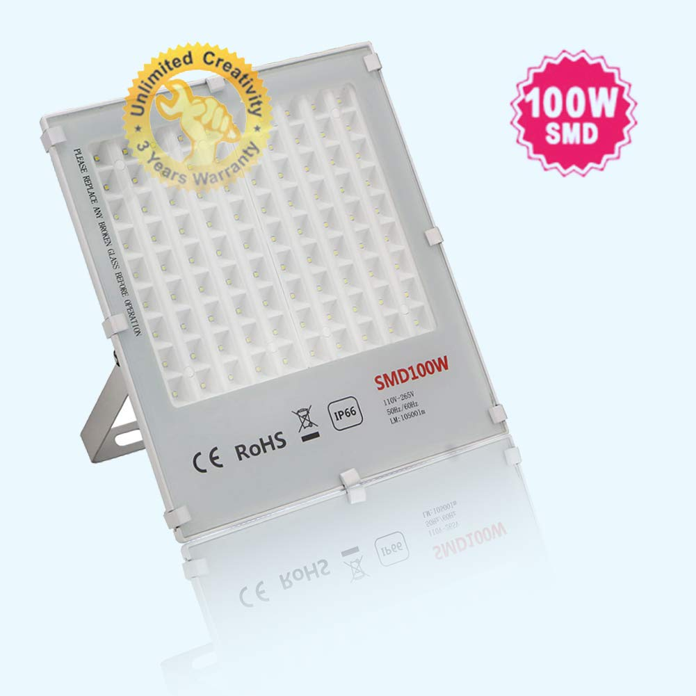 JSVSAL UV LED Blacklights, 100W Ultra Violet LED Flood Light for DJ Disco Club,Night Clubs,UV Light Glow Bar,Birthday Parties,Blacklight Party,Aquariums and Other Entertainment Venues Stage Lighting