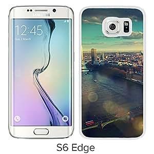 England London Skyview City Flare Big Ben (2) Durable High Quality Samsung Galaxy S6 Case