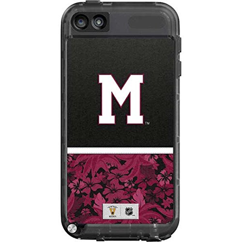 (NHL Montreal Canadiens LifeProof fre iPod Touch 5th Gen Skin - Montreal Maroons Retro Tropical Print )