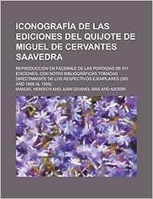 Iconografía de las ediciones del Quijote de Miguel de