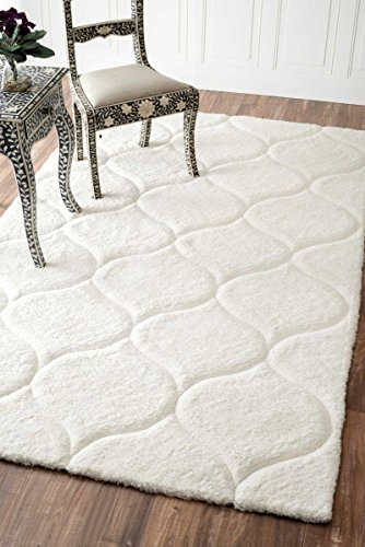 handmade-trellis-soft-and-plush-solid-shag-area-rug