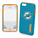 "Miami Dolphins Impact TPU 2-Piece Dual Hybrid iPhone 8 / iPhone 7 / iPhone 6 / iPhone 6s Case - 4.7"" Screen ONLY"