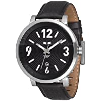 Vestal Men's DPL001 Doppler Slim Black Watch by Vestal