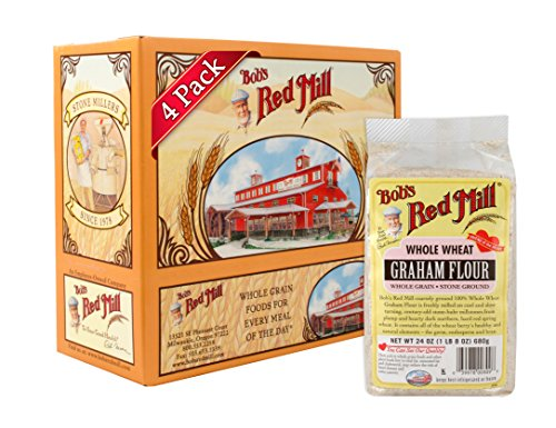 Bob's Red Mill Graham Flour, 24 Ounce (Pack of 4)