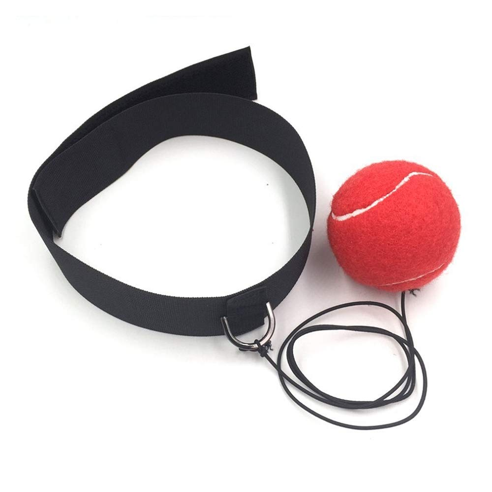 ZPALLASD Boxing Ball hit Boxing Ball Equipment with Headband Reflection Speed Training and Fighting Sport