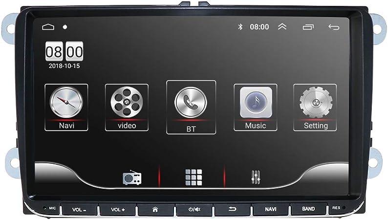 Sistema multimediale per auto Radio stereo 1080P Lettore video con