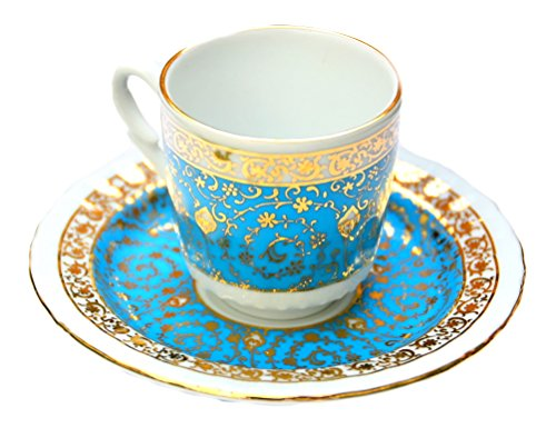 Turkish Porcelain Coffee Cup #7