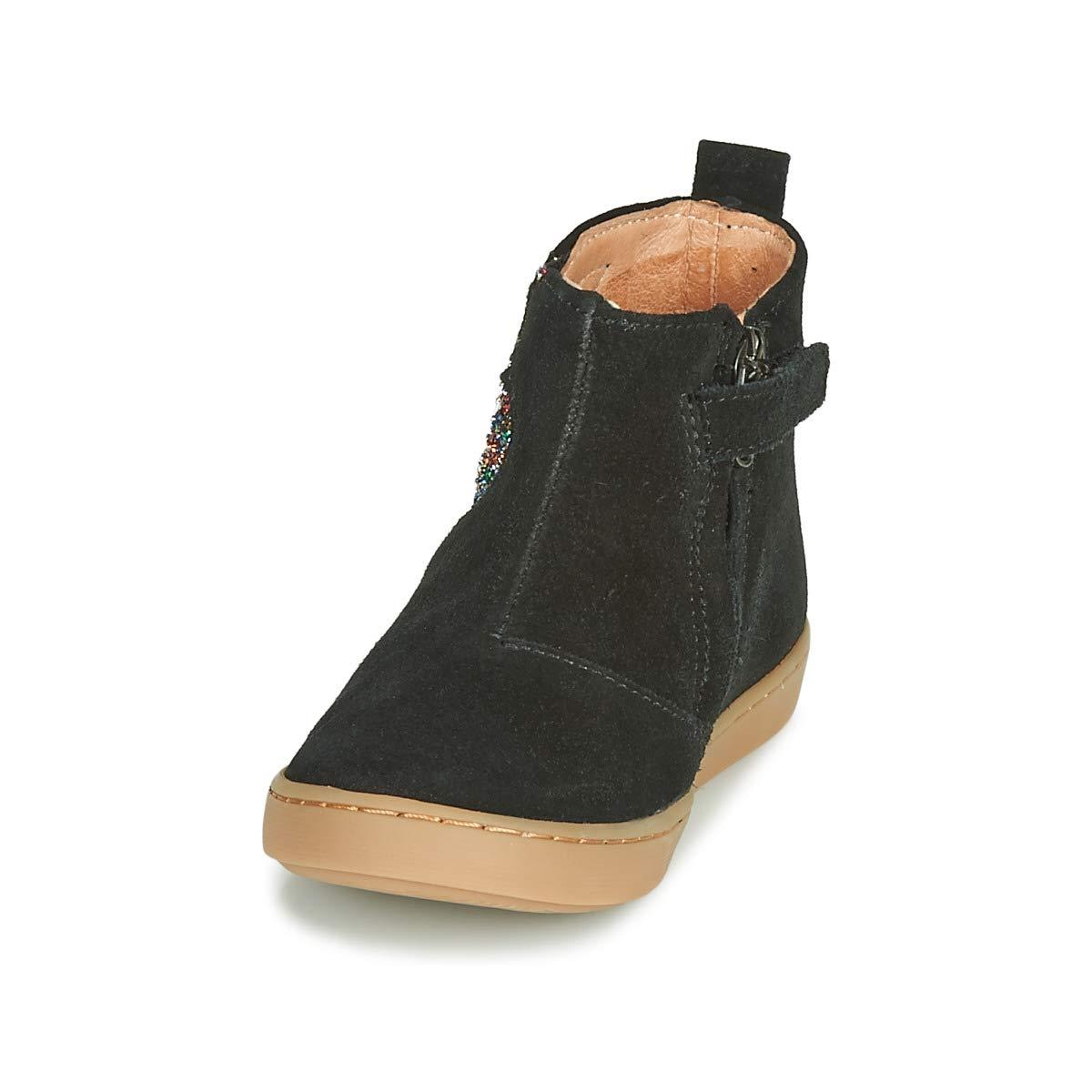 Shoo Pom Boots Fille Noir
