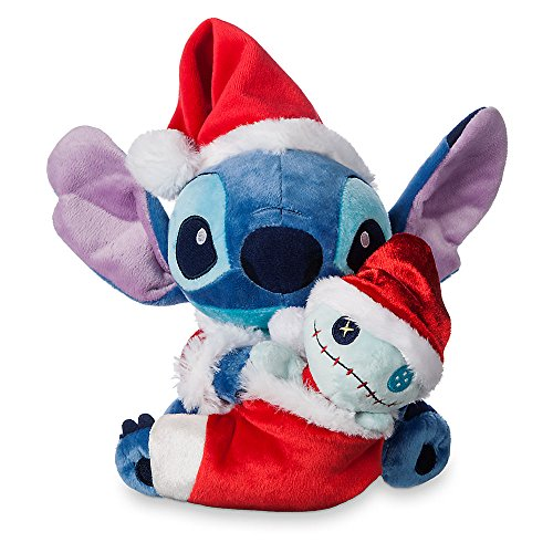 Disney Stitch and Scrump Holiday Plush Set - 6 Inch (Stitch Santa)