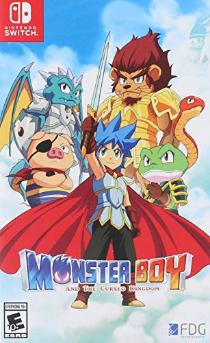 Monster Boy and the Cursed Kingdom - Nintendo Switch]()