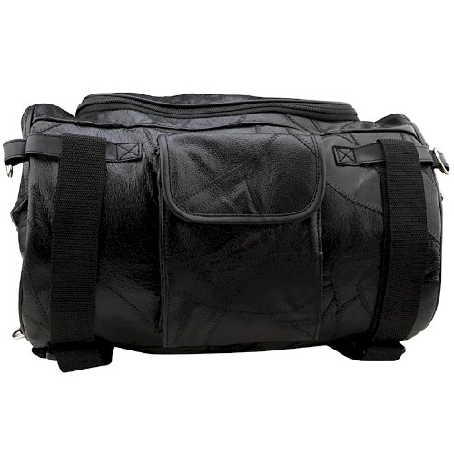 Amazon.com: Leather Motorcycle Barrel Bag: Automotive