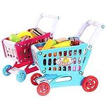 Diamondo Simulation Shopping Cart Trolley Baby Kids Developmental Playhouse Toy Gift