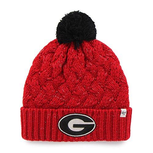 ('47 NCAA Tulsa Golden Hurricane Women's Fiona Cuff Knit Hat, One Size,)