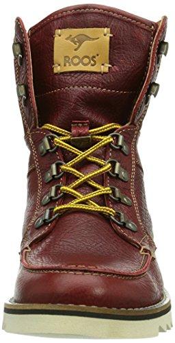KangaROOS Chieftain Herren Hohe Sneakers Rot (bordeaux 640)