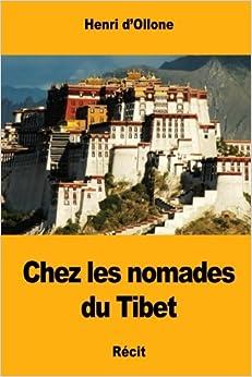 Free PDF Book Chez les nomades du Tibet