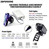 DON PEREGRINO S1 - LED Bike Lights Front and Back
