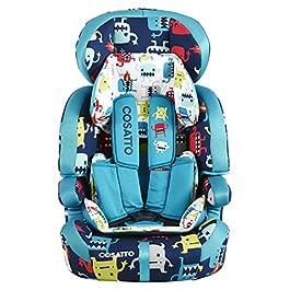 Cosatto Zoomi Group 123 Anti Escape Car Seat (Cuddle Monster 2)