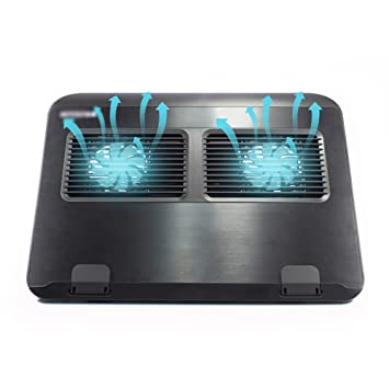 THOR-YAN Refrigerador para computadora portátil - Refrigerador portátil Plegable de 360 Grados
