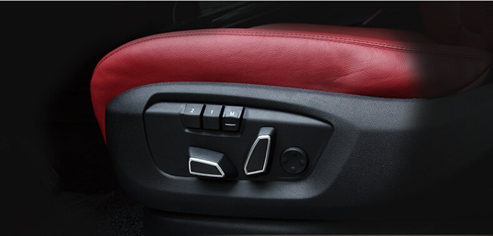 ABS Seat Adjustment Button Cover Trim For BMW 1 Series 3 Series f30 4 Series 5 Series X3 f25 X5 f15 X6 f16 METYOUCAR
