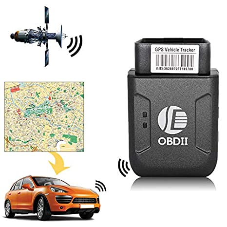 Amazon.com: OBD II GPS Tracker Realtime Car Truck Vehicle ...