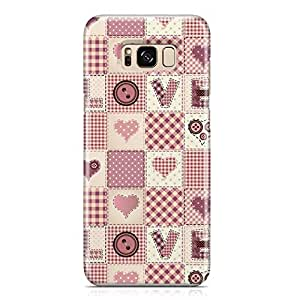 Samsung S8 Plus Case Heart Love Pattern Pattern Great For Girls Cute Design Sleek Finish Durable Samsung S8 Plus Cover Wrap Around 70