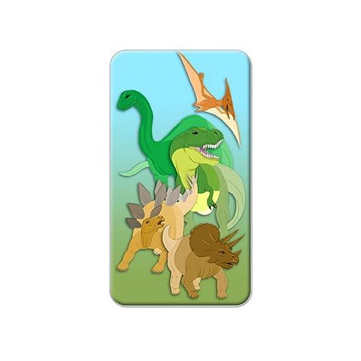 Dinosaurios - T-Rex Triceratops estegosaurio Metal camiseta de ...