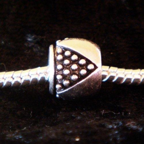 Perle Charmies en métal antique - Compatible Pandora, Amore&Baci, Chamilia…