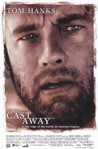 Amazon.com: Cast Away 11 x 17 Movie Poster - Style A: Lithographic Prints:  Posters & Prints