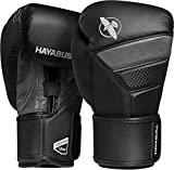 Hayabusa | T3 Boxing Gloves | Men and Women | Black/Grey, 14oz