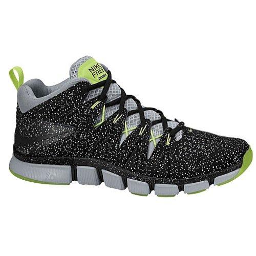 Nike Men's Free Trainer 7.0 LE, BLACK/BLACK-VOLT-WOLF GREY, 9 M US