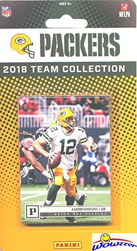 Green Bay Packers 2018 Panini NFL Football Factory Sealed Limited Edition  14 Card Complete Team Set Aaron Rodgers a09f7fcf8