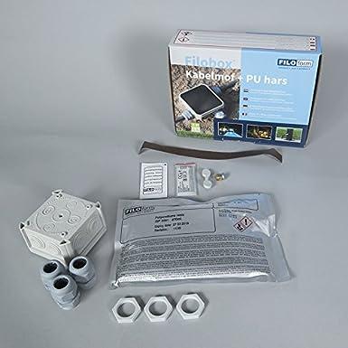 QAZQA Numero civico illuminato denmark Alluminio,Plastico Grigio Cubo//Quadrato//Allungato//Oblungo Max Moderno 1 x 13