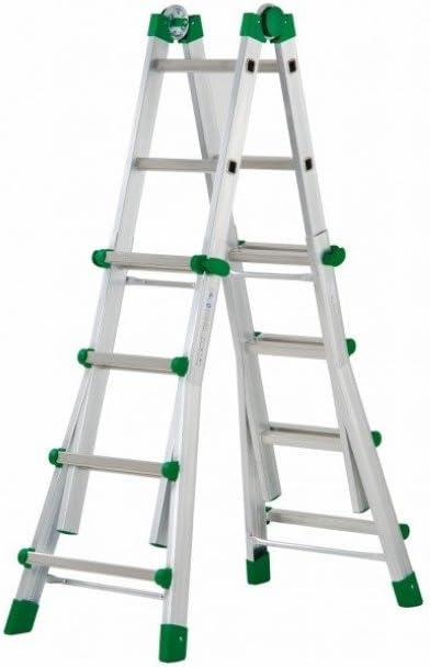 Codiven. S.L. - Escalera Multiuso Aluminio 8+8 Peldaños Al-020 ...