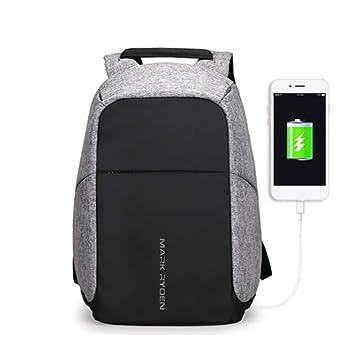 LETAMG MOCHILAS Mochila Multifuncional para Viaje USB de 15 Pulgadas para Hombres, Mochila para portátil, antirrobo, Mochila de Viaje para Adolescentes, ...
