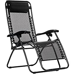 AmazonBasics Zero Gravity Chair - Black