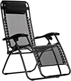 AmazonBasics Zero Gravity Chair – Black